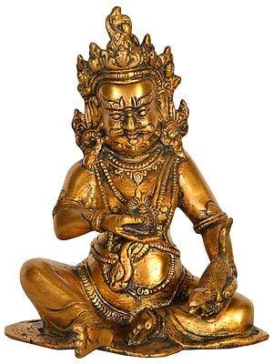 Tibetan Buddhist Deity Vaishravana (Kubera)