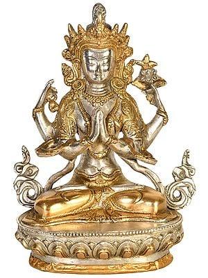 Tibetan Buddhist Deity: Chenrezig (Shadakshari Lokeshvara)