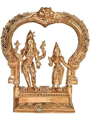 Bhagawan Shiva with Mother Parvati