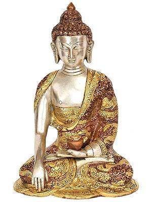 Lord Buddha in Mara Vijay Mudra (Tibetan Buddhist Deity)