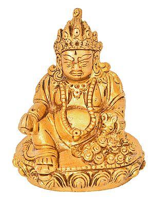 Kubera - The God of Wealth (Small Statue)