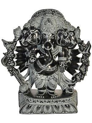 Five Headed Blessing Ganesha