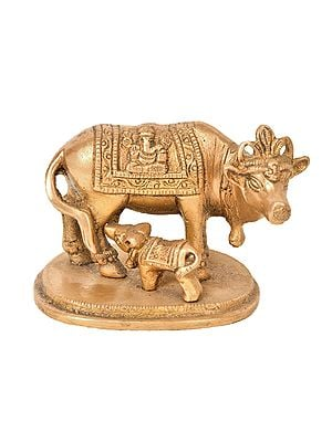 Cow and Calf (Small Statue)