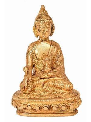 Tibetan Buddhist Deity Medicine Buddha (Small Statue)