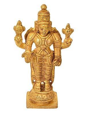 Chaturbhuja Vishnu (Small Statue)