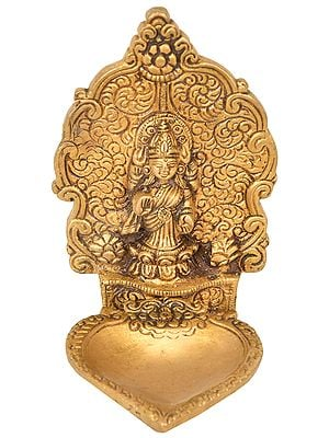 Goddess Lakshmi Wick Diya
