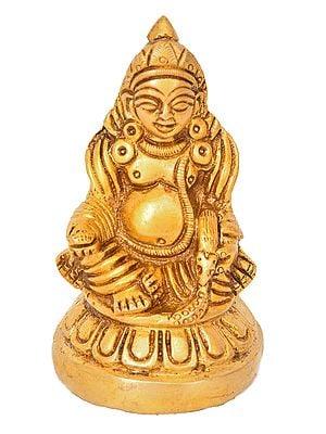 Kubera: The God Of Wealth (Small Statue)