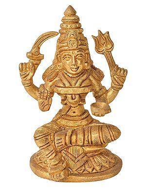 South Indian Goddess Mariamman (Small Statue)