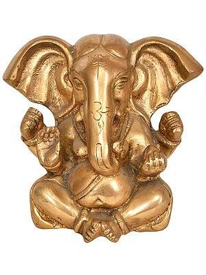 Ganesha with Large Ears