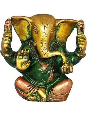 Ganesha Eating Modaka