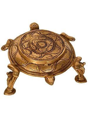 Tortoise Ritual Pedestal (for Vastu)