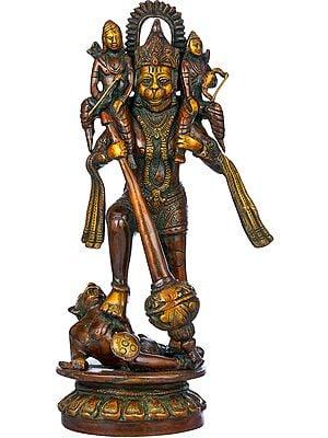 Hanumanji Saving Rama Lakshman from Mahiravan