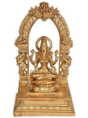 Blessing Goddess Lakshmi