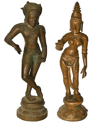 Vrishavahana Shiva with Parvati