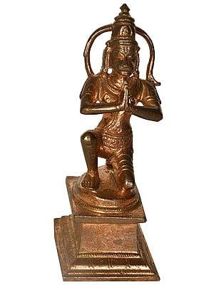 Lord Hanuman in Obeisance to Lord Rama