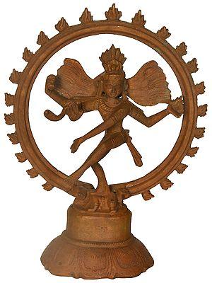 Small Bronze Nataraja