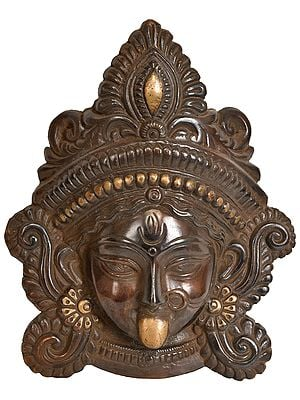 Kali Mask (Wall Hanging)