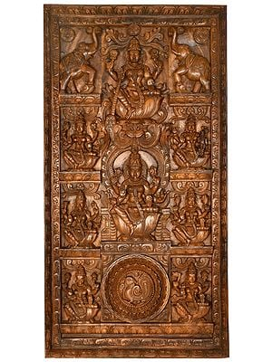 Fine Quality Ashtalakshmi Panel