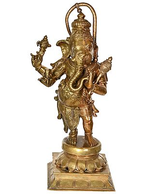 Ganesha-Hanuman Composite Deity