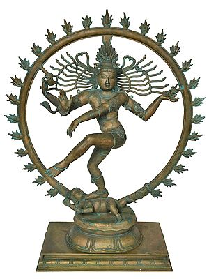 Lord Shiva as Nataraja (Large Size)