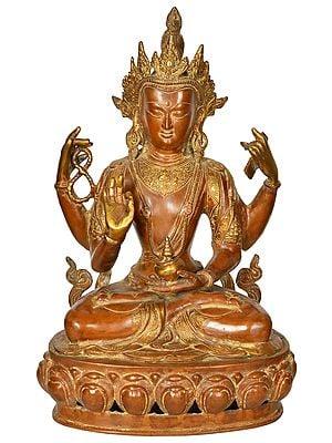 A Composite Image of Buddhist Deity