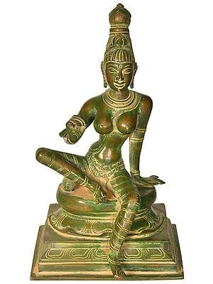Seated Goddess Parvati
