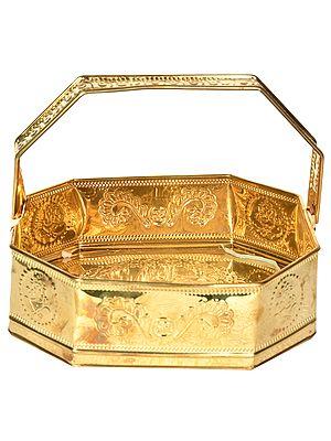 Goddess Lakshmi Puja Basket