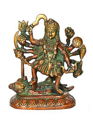 Goddess Kali on Lotus Base