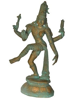 Dancing Ardhanarishvara from Tanjore