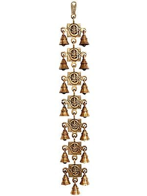 OM (AUM) Ganesha Door Hanging Bells