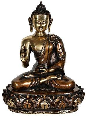 Lord Buddha in Preaching Mudra (Tibetan Buddhist)