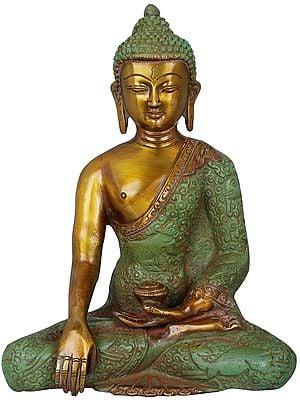 Buddha in Bhumi-Sparsha Mudra (Tibetan Buddhist Deity)