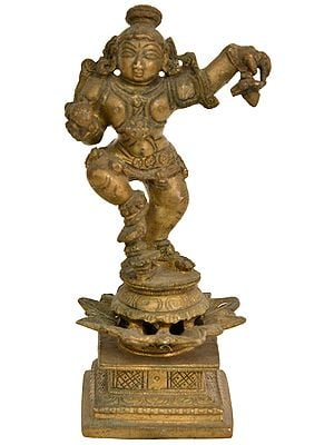 Dancing Laddoo Gopala (Krishna)