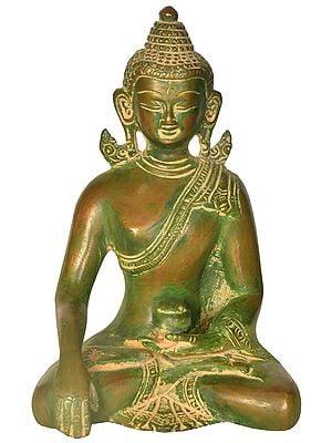 Buddha in Earth Touching Gesture (Tibetan Buddhist)