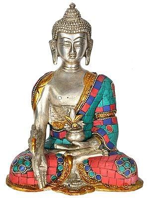 Medicine Buddha in Padamasana (Tibetan Buddhist)