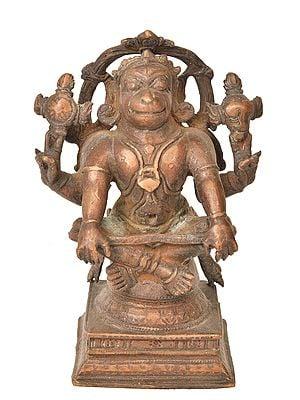 Hanuman as Yogacharya