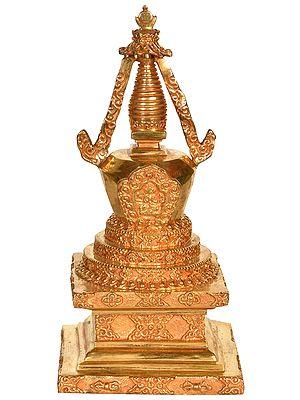 Tibetan Buddhist Chorten (Stupa) from Nepal