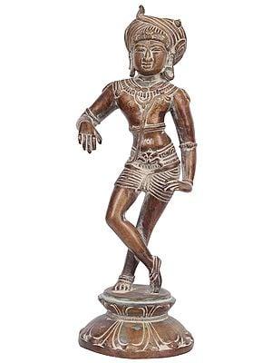 Vrishvahana Shiva Wearing a Turban Made of Serpent