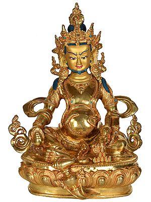 Tibetan Buddhist Deity Kubera