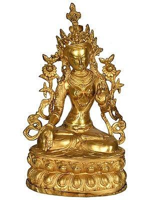 Seven Eyed Tibetan Budhdist Deity White Tara