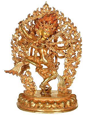 Tibetan Buddhist Goddess Kurukulla (Made in Nepal)