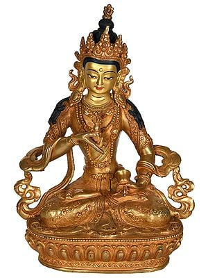 Vajrasattva Tibetan Buddhist Deity (Made in Nepal)