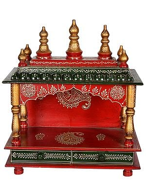 Hindu Wooden Temple