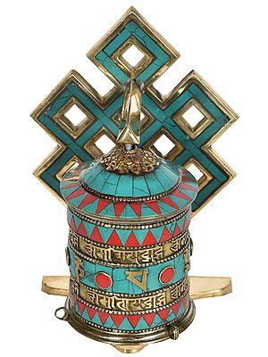Made in Nepal Prayer Wheel (Tibetan Buddhist)
