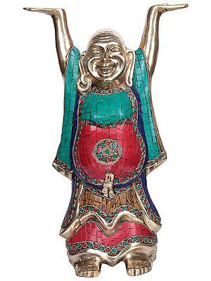 Tibetan Buddhist Deity Laughing Buddha