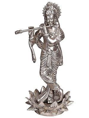 Krishna in Silver Hue (Chandravanshi)