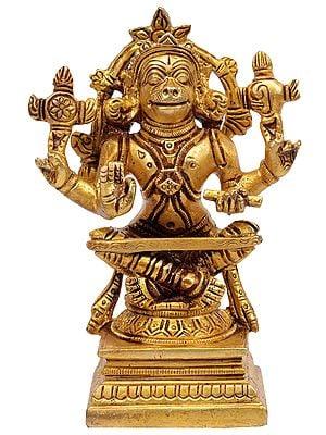 Lord Hanuman as Yogacharya