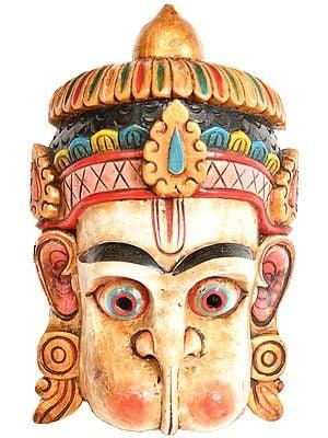 Lord Hanuman Wall Hanging Mask (Made in Nepal)