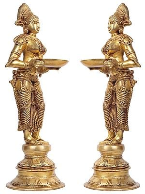 Pair of Deepalakshmi
