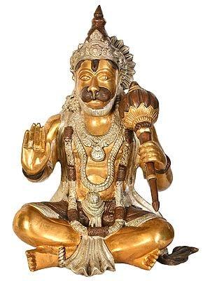 Lord Hanuman in Ashirwad Mudra